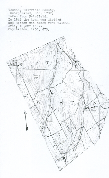 Town of Weston, Fairfield County, Connecticut Cemetery Information ...